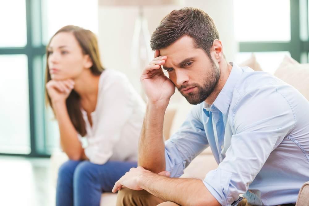 Мужчина и женщина поссорились