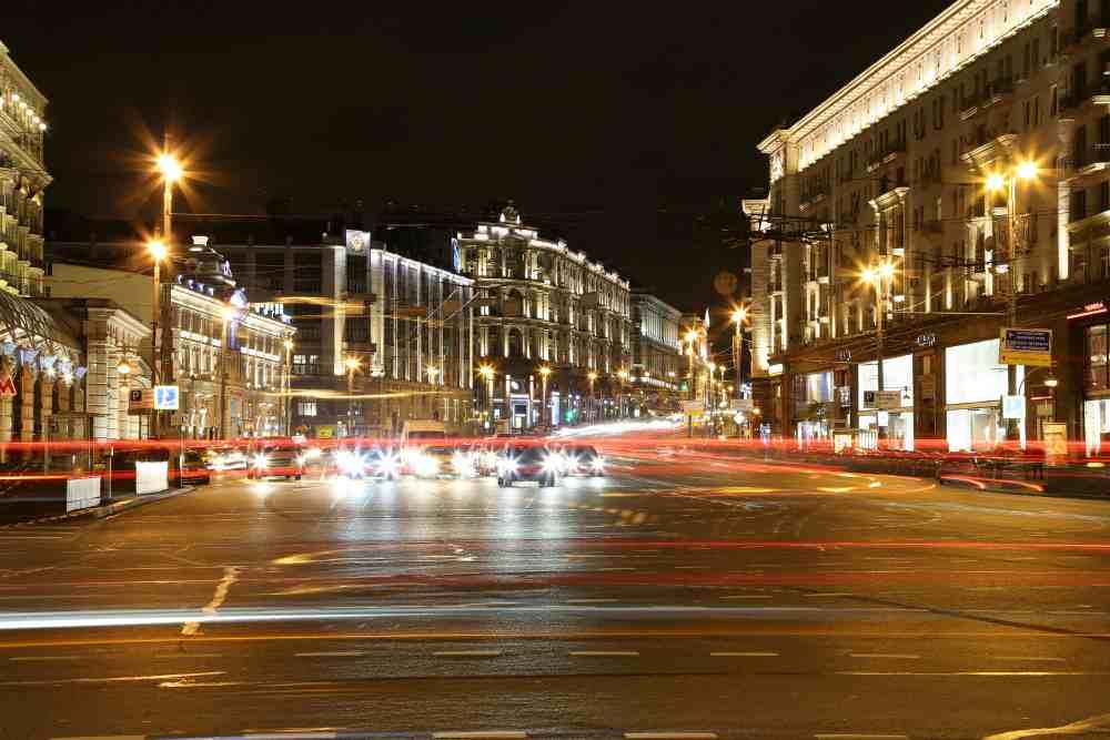 Улица Тверская Москва