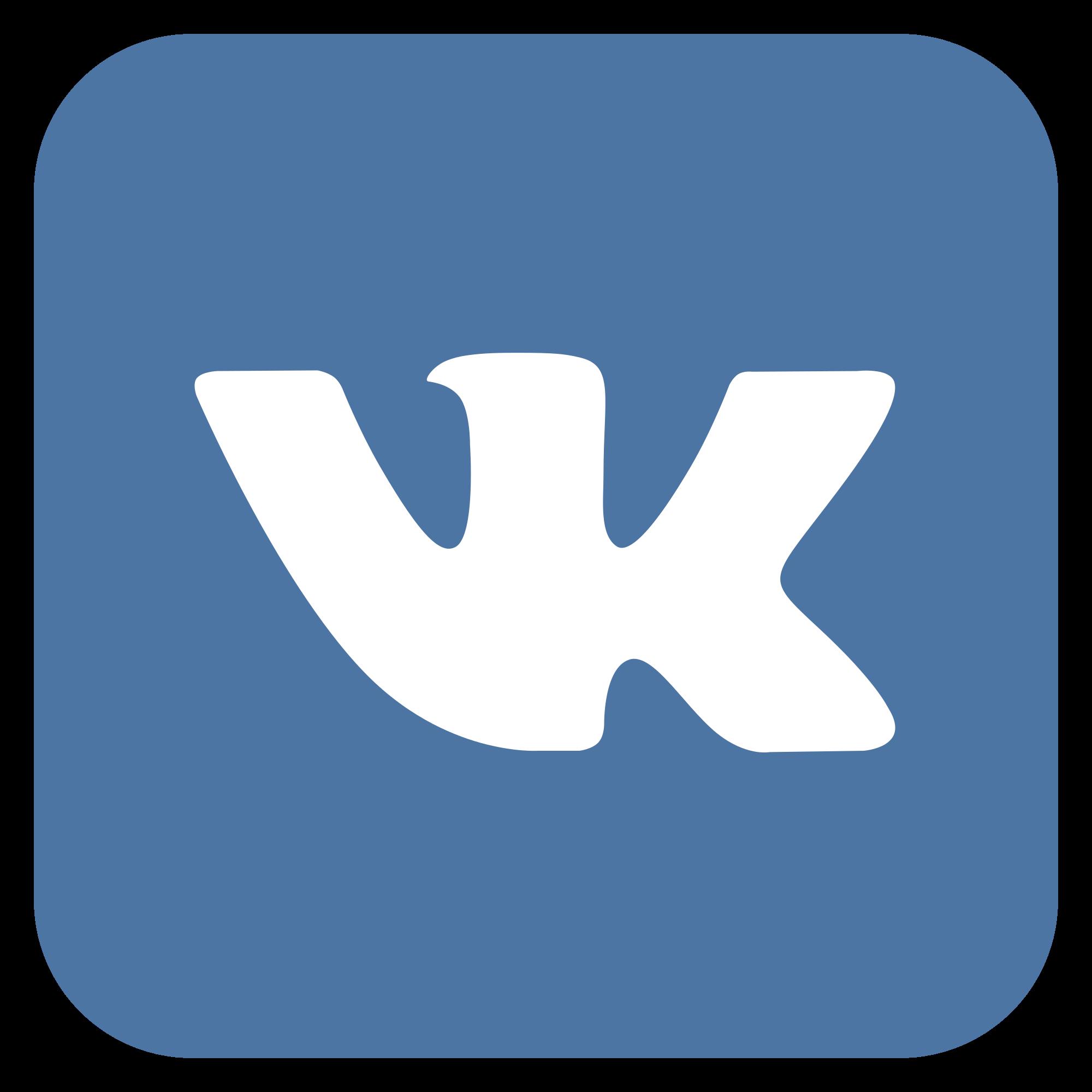 Логотип ВКонтакте квадратный