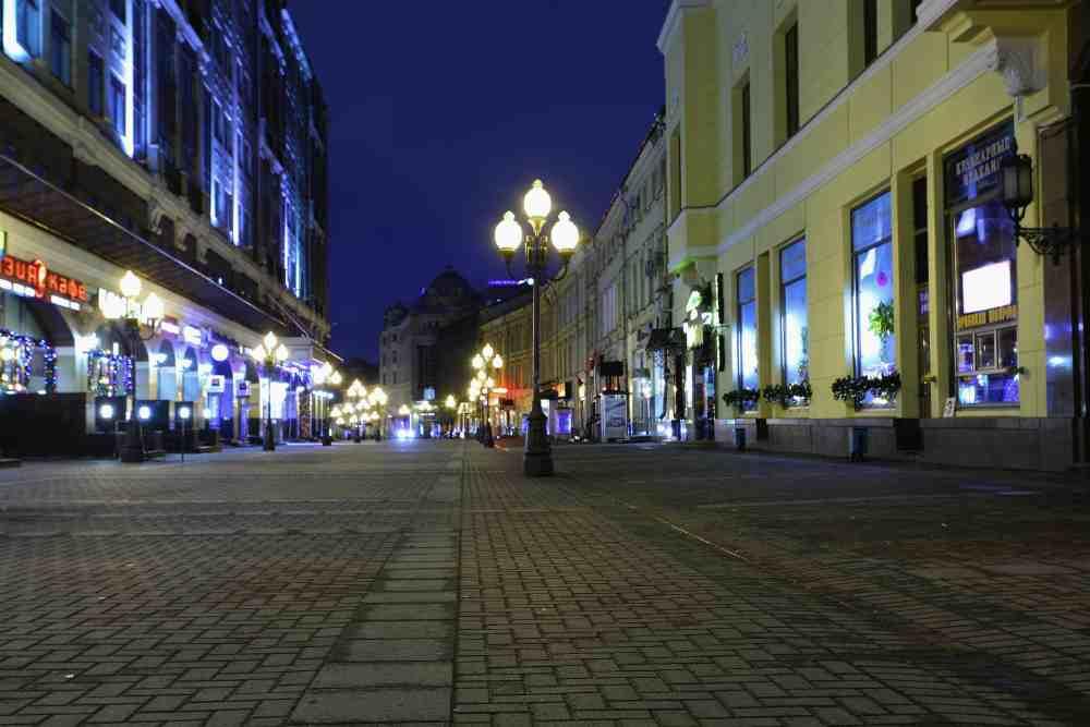 Романтика в Москве